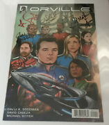 2019 Nycc Ny Comic Con The Orville 1 Cast Signed Book And Poster 10 Autos Nice