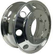 19.5x7.5 Aluminum Truck Wheel Rims Alcoa Style 8x275 Polished Outside Fit Front