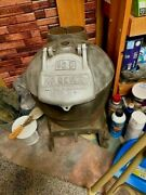 Antique Cast Iron Coal Fired Water Heater Made In Pennsylvania