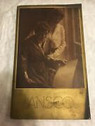 Early Rare 1916 Ansco Camera Catalog And Pocket Brochure Insert Color Illustrated