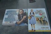 2 Wizard Of Oz Metal / Tin Movie Poster Signs 16 X 12.5 In