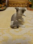Lladro 5236 Cat And Mouse Retired Mint Condition No Box