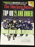 2019 The Hockey News - Prospects Special Issue Makar, Dahlin, Laine, Pettersson