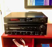 Excellent Denon Am-fm Stereo Tuner Tu-550 And Integrated Stereo Amplifier Pma-720