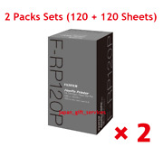 Fuji Film F-rp 120 P Finepix Printer Photo Paper And Ink For Ip-10 2 Boxes