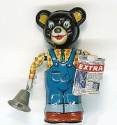 Tin Toys Japan Toys Club Collection Bear Vintage Figure Robot Wind-up