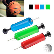 192 Lot Compact Handheld Inflate Pump W/ Needle Sports Balls Football Soccer Toy