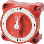 4 Position E-series Marine Battery Switch Selector W/alternator Field Disconnect