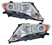 For 2009 2010 2011 2012 Toyota Venza Hid Headlights Pair Set
