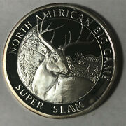 Whitetail Deer North American Hunting Club 1 Ounce .999 Silver Round Sr95