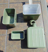 Hungarian Military Surplus Mess Kit With New Kfs Set In Excellent Used Condition