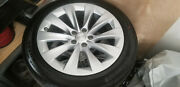 New 20 Tesla Model X Staggered Slipstream Oem Factory Wheels Rims + Tires Tpms