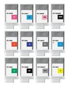 12 Ink For Canon Ipf6400 Ipf6450/pfi-106mbk 106pgy 106gy 106y 106r 106b 3.7oz