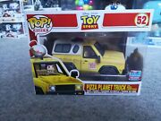 Pizza Planet Truck And Buzz Lightyear Funko Pop Nycc 2018