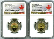 2019 2 Canada Ngc Gem Unc Toonie 75th D-day Two Dollar 2-coin Set First Release