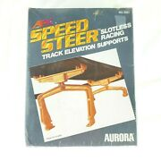 Afx Speed Steer Slotless Racing Track Elevation Supports Louis Marx 1979