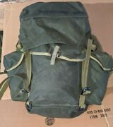 Canadian Army Surplus Backpack Rucksack Type 82 Pattern Modifiedno Metal Frame