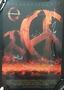 A Perfect Circle 2011 Tour Limited Vip Signed 18x24 Poster. All Members Signed