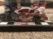Nascar 124 Diecast Car Display Cases Lot Of 2 Wooden Checkered Flag Mirrored