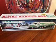 Classic Hess Collectible - 1990 Toy Tanker Truck - New In Box
