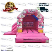 15x13ft Commercial Inflatable L.o.l Surprise Bounce House Slide With Air Blower