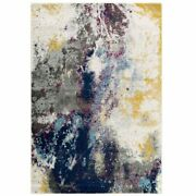 Modway Entourage Adeline Contemporary Modern Abstract 8and039 X 10and039 Area Rug