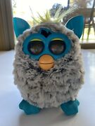 Furby Hasbro 2012 Electronic Interactive Toy Gray Blue Tested Works Collectible