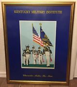 Kentucky Military Institute Print Character Makes The Man Army Marines School