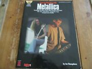 Learn To Play Bass With Metallica, Book And Cd, 2001, Cherry Lane Music Company
