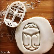 Scarab Beetle Cookie Cutter Egypt Artifact Ancient Pharaoh Egyptian Biscuit