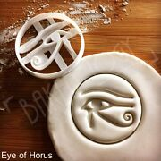 Eye Of Horus Cookie Cutter Egypt Artifact Hieroglyph Ancient Egyptian Biscuit