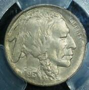 1913-d Ty. I Buffalo Nickel Pcgs Ms-64. Well Struck, And Nicely Toned Reverse