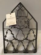 Hearth And Hand Magnolia Giant Multi-cookie Cutter Sheet Star Tree House Christmas