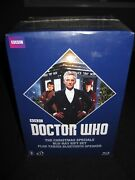 Doctor Who Christmas Specials Giftset With Tardis Bluetooth Speakers Blu-ray