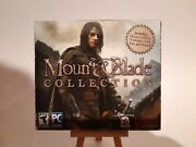 Mount And Blade Collection Pc Cd-rom, 2012 New And Sealed