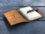 Genuine Leather Journal Writing Notebook Handmade Leather Bound 7,1/2 X 5