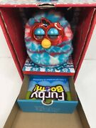 Furby Boom Festive Sweater Edition Box And Inserts Interactive Toy
