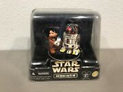Star Wars Disney Star Tours Jedi Mickey And R2-mk Action Figures