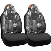 Dga Bell Automotive Ride Or Die Biker Babe Universal Bucket Seat Covers 2 Pack