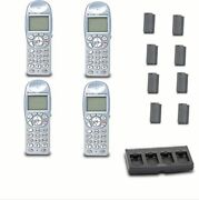 Spectralink 6020 Ltb100 Wireless Phone 8xbattery 1xquad Charger Cbq250 Bundle