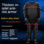 Full Tactical Police Body Protective Anti Riot Armor Suit Emergency Survival New