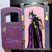 Disney Auctions Hinged Door Maleficent And Diablo Pin Le 100 Htf Rare