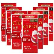 Japan Hoyu 宣若 Cielo Ex One Push Cream Hair Easy And Quick Dye Color Dying Kit