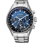 Citizen Atessa Cc4000-59l Direct Flight Solar Radio Wave Menand039s Watch From Japan