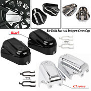 Rear Tail Axle Phantom Covers Cap Fit For Harley Heritage Softail Deluxe Custom