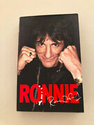 Ronnie Wood Hardcover Book Autograph Lithograph Signed 138/600 I Rolling Stones