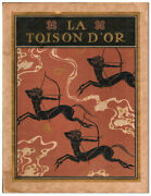 Edmund Dulac And Charles Guyot-la Toison D'or-1921-1st Ed-signed-nf W/custom Case
