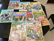 Lot Of 10 Rainbow Works Frame Tray Jigsaw Puzzles
