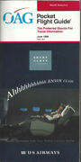 Oag Official Airline Guide North American Pocket Timetable 6/98 [0042]
