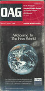Oag Official Airline Guide North American Pocket Timetable 3/1/96 [0042]